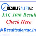 JAC 10th Result 2020-21 | Check Jharkhand Board Class 10 Results 2021