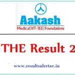 Aakash ANTHE Result 2019 Download Rank Card Check @www.aakash.ac.in