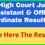 Telangana High Court Office Subordinate Result 2019 Check Here @hc.ts.nic.in