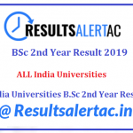 BSc 2nd Year Result 2021 घोषित   Check B.Sc Part 2 Result 2019 Here