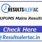UP University of Medical Sciences Result 2021 | UPUMS Mains Results 2021